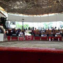 Photo taken at Plaza de Toros Arroyo by Abraham V. on 8/8/2015