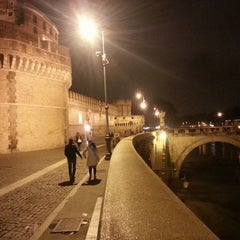 Photo taken at Castel Sant'Angelo by Danilo A. on 3/31/2013
