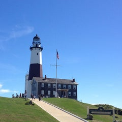 Photo taken at Montauk Point Lighthouse by Kimberly H. on 9/15/2013