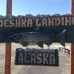 Photo taken at Deshka Landing by Sarah D. on 5/7/2014