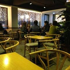 Photo taken at Café NESCAFÉ by Hyejin P. on 3/16/2013