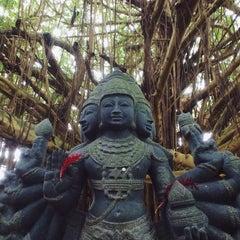 Photo taken at Kauai Hindu Monastery by @tdavidson on 11/24/2014