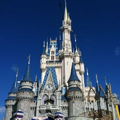 Photo taken at Cinderella Castle by Lynette D. on 1/29/2013