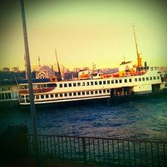 Photo taken at İDO Bostancı Deniz Otobüsü İskelesi by Birol A. on 1/17/2013