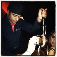 Photo taken at Chamas Churrascaria & Bar مطعم شاماس البرازيلي by Abbas A. on 10/18/2012