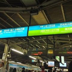 Photo taken at JR 横浜駅 3-4番線ホーム by Masashi O. on 9/12/2013