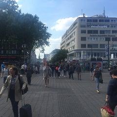 Photo taken at Düsseldorf by Neil M. on 6/15/2015
