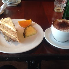 Photo taken at Den Franske Café by Huma J. on 4/5/2015