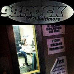 Photo taken at 98 Rock (WIYY-FM) by Olivia O. on 5/3/2013