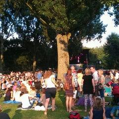 Photo taken at Erasmuspark by David O. on 7/27/2013