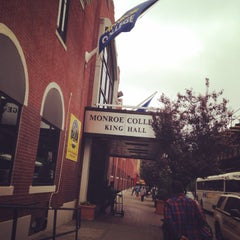 Photo taken at Monroe College - King Hall by Sylvia T. on 5/28/2014