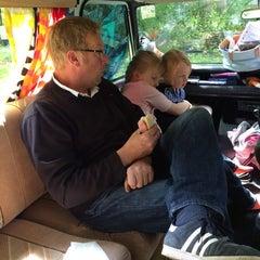 Photo taken at Hertford Camping & Caravanning Club Site by Nicola F. on 5/24/2014