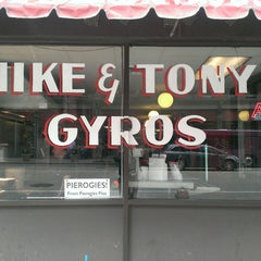 Photo taken at Mike and Tony's Gyros by Jerry M. on 4/10/2013