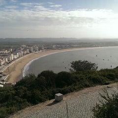 Photo taken at São Martinho do Porto by Denis Z. on 11/24/2014