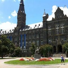 Photo taken at Georgetown University by Elliott V. on 7/6/2013