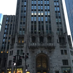Photo taken at Tribune Tower by Scott Kleinberg on 1/25/2016