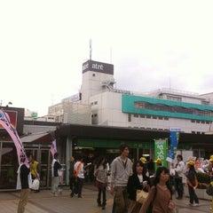 Photo taken at 松戸駅 (Matsudo Sta.) by Koichi J. on 10/27/2012