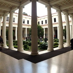 Photo taken at J. Paul Getty Villa by Astrid S. on 12/30/2012
