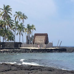 Photo taken at Puʻuhonua o Hōnaunau National Historical Park by Brian D. on 4/8/2014