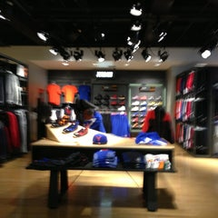 Photo taken at Niketown Los Angeles by Patrick Paul N. on 1/20/2013