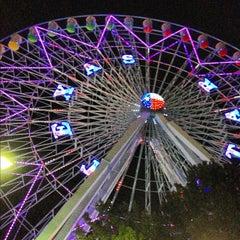 Photo taken at Texas Star Ferris Wheel by Buu L. on 10/4/2012