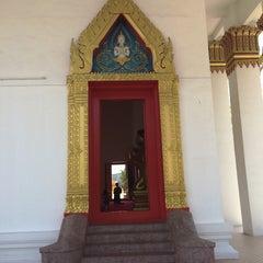 Photo taken at วัดพุทธมงคลนิมิตร (Wat Buddhamongkolnimit) by Aukarpol P. on 3/19/2016
