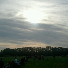 Photo taken at Joyce Park FOSC Fields by Eric S. on 9/15/2012