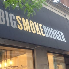 Photo taken at Big Smoke Burger by Lia M. on 5/22/2012