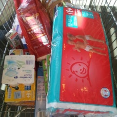 Photo taken at Carrefour - La Linea by Isabel A. on 9/25/2012