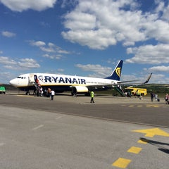 Photo taken at Kerry Airport (KIR) by Julie B. on 7/26/2015