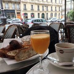 Photo taken at Café le Soufflot by Vincent N. on 5/2/2015