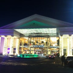 Photo taken at Crocus City Mall by Ekaterina M. on 12/15/2012