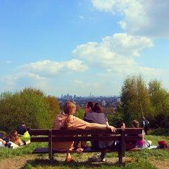 Photo taken at Hampstead Heath by Assel U. on 5/6/2013