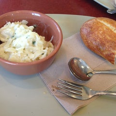 Photo taken at Panera Bread by Desarae V. on 4/4/2013