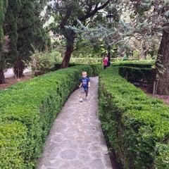 Photo taken at Jardins de la Cartoixa by Jason E. on 10/23/2013