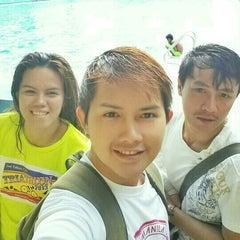 Photo taken at Abellana Swimming Pool by Edward A. on 7/28/2014