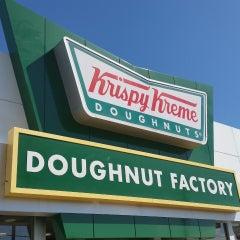 Photo taken at Krispy Kreme Doughnuts by frankd R. on 10/5/2014