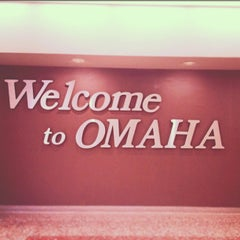 Photo taken at Omaha Eppley Airfield (OMA) by Derek M. on 3/31/2013