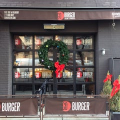 Photo taken at Go Burger by Matthew on 12/19/2013
