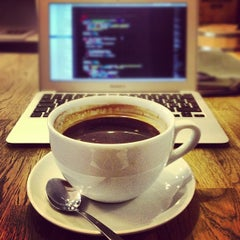 Photo taken at Boréal Coffee Shop by Javier B. on 9/26/2012
