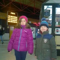 Photo taken at Autobuska stanica Subotica by Damir F. on 1/4/2015