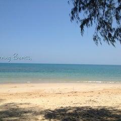 Photo taken at หาดในยาง (Nai Yang Beach) by WAN W. on 4/20/2013