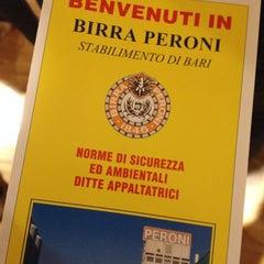 Photo taken at Stabilimento Birra Peroni by Nicola C. on 2/19/2015