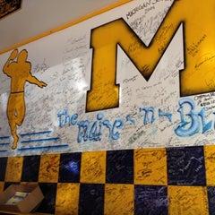 Photo taken at Maize N Blue Deli by Erik M. on 11/17/2012