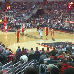 Photo taken at Washington Wizards by David C. on 2/24/2013