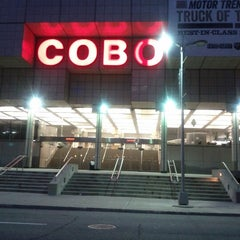Photo taken at Cobo Center by Alecs R. on 1/20/2013
