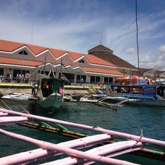 Photo taken at Caticlan Jetty Port & Passenger Terminal by Jasper P. on 4/11/2013