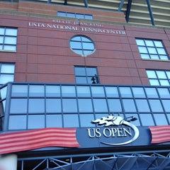 Photo taken at President's Gate - US Open by Deborah C. on 8/25/2014
