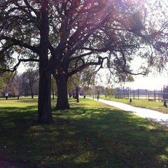 Photo taken at Horner Park by Marcella on 11/1/2012