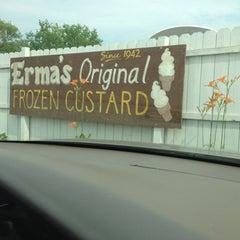 Photo taken at Erma's Frozen Custard by Douglas G. on 7/4/2013